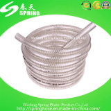 Boyau spiralé renforcé par plastique de débit industriel de pipe de fil d'acier de PVC