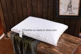 Самая дешевая удобная поддерживающие и мягкие гусына/утка вниз оперяются подушка с золотистой стороной