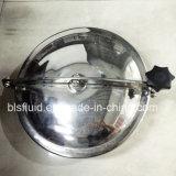 Tipo circular de acero inoxidable del tanque Cubierta de boca
