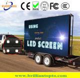 Pantalla al aire libre SMD3535 de P10 LED a todo color para hacer publicidad (320*160m m)