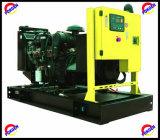 супер молчком тепловозный комплект генератора 480kw/600kVA приведенный в действие Perkins Двигателем