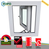 Casement vitrificado Windows triplicar-se do impato do furacão de Veka UPVC placa alemão