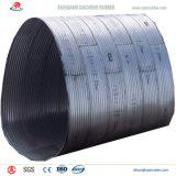 Fornecedores ondulados da tubulação de aço do meio círculo grande a México
