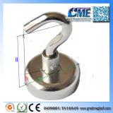 Ganchos de leva magnéticos de la atracción magnética del imán neo grande del montaje