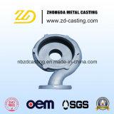 Carcaça de areia Ductile personalizada do ferro da fundição de China para a maquinaria de construção