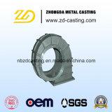Moulage au sable malléable personnalisé de fer de fonderie de la Chine pour des machines de construction