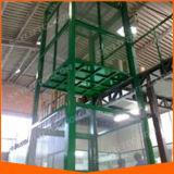 Equipamento das cargas/elevadores de bens/elevadores de levantamento