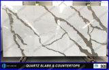 Calacattaの装飾の人工的な水晶石のテーブルの上カラー