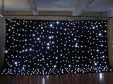 LED-Stern-Tuch/Trennvorhang heller RGB-Stern-Trennvorhang LED Dance Floor