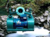 Tipo generador del impacto de la rueda dual de turbina del agua