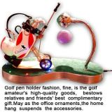 Penholder de golf avec l'horloge ou pas