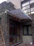 De jardin de meubles tente escamotable de cassette semi pour le patio et le balcon G-3