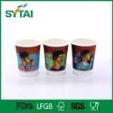 Бумажные стаканчики стены 10oz горячего высокого качества сбывания устранимые двойные