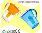 長い寿命のプラスチック水差し水フィルター作動したカーボン純粋な生命水