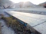 100 маштабов тележки тонны 3X12m веся для утеса задавливая завод