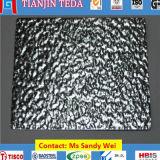1060 3003 5052のスタッコによって浮彫りにされるアルミニウムシート