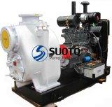 Motor diesel de la bomba de riego