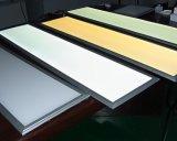 白く、平らなAluimumフレームのDimmableの天井LEDの照明灯300X1200