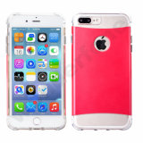2in1 caisses transparentes du PC TPU Hybird pour l'iPhone 6 7