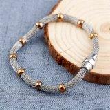 Individualità dorata di stile dell'Europa degli accessori del braccialetto dei branelli dell'acciaio inossidabile