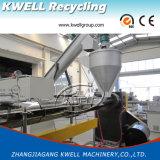 Linha de EVA/ABS/PP/máquina da extrusão/máquina de granulagem da extrusora com alimentador da força