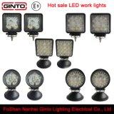 Luz campo a través caliente del trabajo de la venta 15With18With27With42With48W LED
