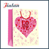 Pink Color Wholesales Logotipo Laminado Custom Mother`S Day Paper Bag