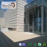 バルコニーのための屋外の耐火性WPCによってリサイクルされるゴム製Decking