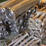 Edelstahl-gewölbte gewundene flexibles Metalschlauchleitung mit Einfassung