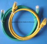 Kat 6A S/FTP 30m het Blauwe Grijze Koord van het Flard PVC/LSZH