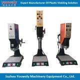 Contenitori di cassetta audio e rotella di memoria dalla strumentazione ultrasonica del saldatore