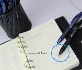 Tipo bolígrafo del punto negro con el diámetro de la punta de 0.7m m