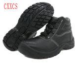 鋼鉄つま先及び底安全靴