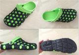 Máquina de alta tecnología material del zapato del moldeo a presión del deslizador de las sandalias de Kclka EVA