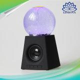 춤 물 수정같은 스피커 액티브한 휴대용 소형 USB LED 가벼운 사운드 박스 Subwoofer 오디오 Bluetooth 스피커
