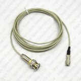 Sertissage mâle Jack du connecteur coaxial DIN 1.0/2.3 de rf pour le câble coaxial de liaison de Rg179/1.5c-2V