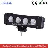 Offroad를 위한 단 하나 줄 40W 크리 사람 LED 차 표시등 막대 (GT3300-40W)