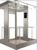 Vvvf Control Panoramic Elevator mit Machine Raum