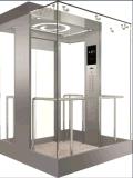 Vvvf Control Panoramic Elevator с комнатой Machine