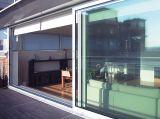 Porta deslizante de alumínio da venda quente para a sala de visitas com Baixo-e vidro