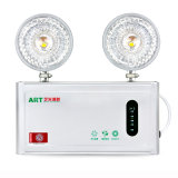 Brightness elevado Double Head Emergency Light para Power Failure (1406)