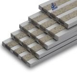 引込められたアルミニウム具体的な反スリップ階段Nosing&Nbsp;