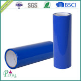 Cinta adhesiva del embalaje de la película azul del color BOPP de Cusutomize