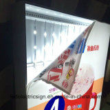 Mur Art Fabric Light Box DEL Backlit Aluminum Frame Advertizing Sign avec Outdoor DEL Sign