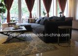 El sofá blanco de la sala de estar del sofá de la tela de Moden fijó (D-74-D +B+E+E)