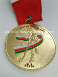 Lustro Gold Grace Assembly Awards Medal con Black Ribbon (JINJU16-002)