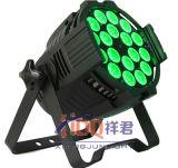 18PCS 18W RGBWA+UV kann Innenstadium LED NENNWERT