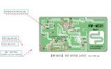 Plafond \ panneau détecteur à hyperfréquences (HW-MS01)