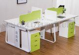 Neues Melamin Kraftstoffregler-Büro-Partition-Systems-ovaler Büro-Arbeitsplatz (SZ-WST625)
