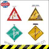 Signes de sûreté de clignotant en aluminium du trafic LED